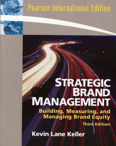 9780132336222: Strategic Brand Management: Building, Measuring, and Managing Brand Equity
