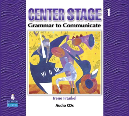 9780132336703: Center Stage 1: Grammar to Communicate, Audio CD: Level 1
