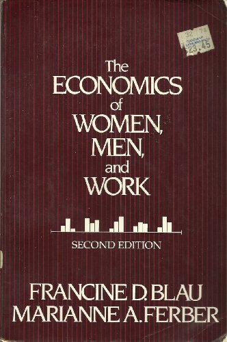9780132337274: Economics of Men and Women at Work