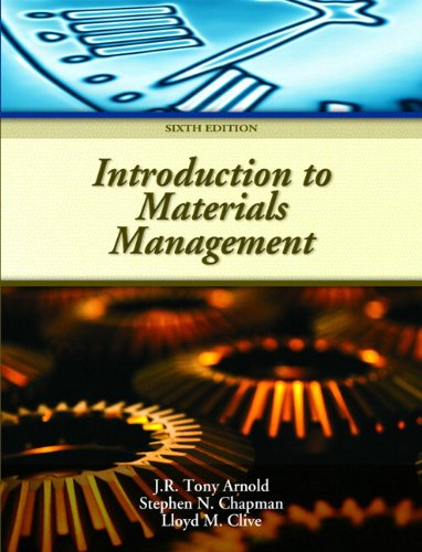 9780132337618: Introduction to Materials Management
