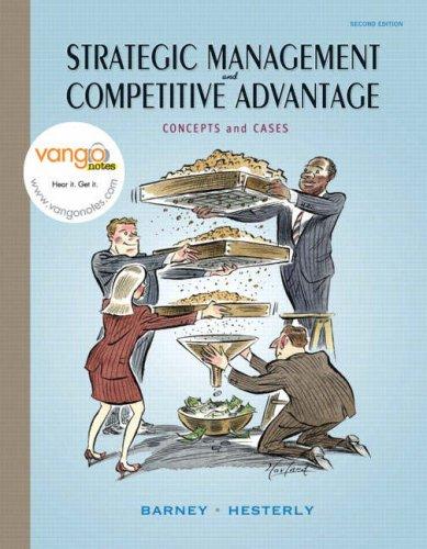 9780132338233: Strategic Management and Competitve Advantage: Concepts and Cases