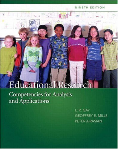 9780132338776: Educational Research: Competencies for Analysis and Applications (9th Edition)
