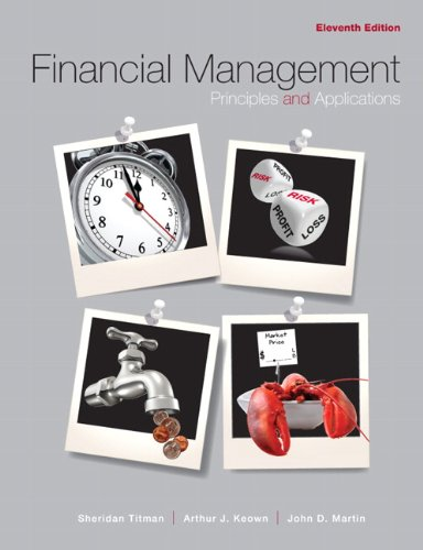 9780132340359: Financial Management:Principles and Applications: United States Edition