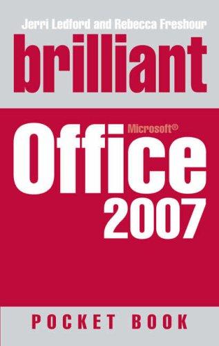 9780132340595: Brilliant Office 2007: Pocket Book