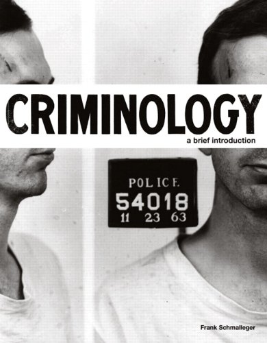 9780132340694: Criminology: A Brief Introduction