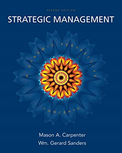 9780132341400: Strategic Management: A Dynamic Perspective: Concepts, 2nd Edition