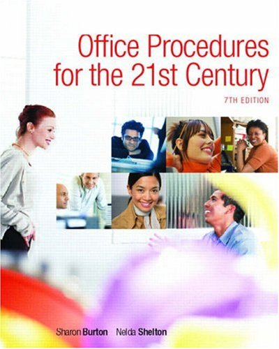 9780132343435: Office Procedures for the 21st Century and Student Workbook Package