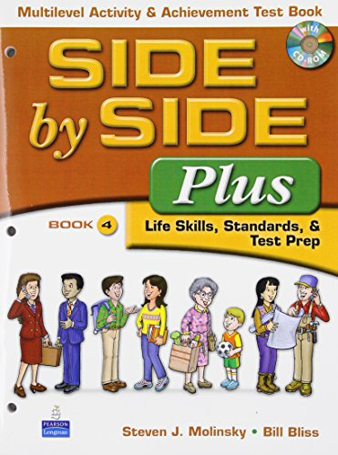 9780132343886: Side by Side Plus: Lifeskills Stand. Test Prep: Multilevel ACT & Ach Test Bk