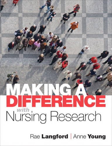 9780132343992: Making a Difference with Nursing Research