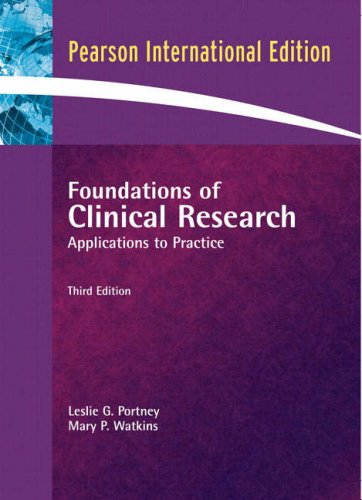 9780132344708: Foundations of Clinical Research: Applications to Practice: International Edition