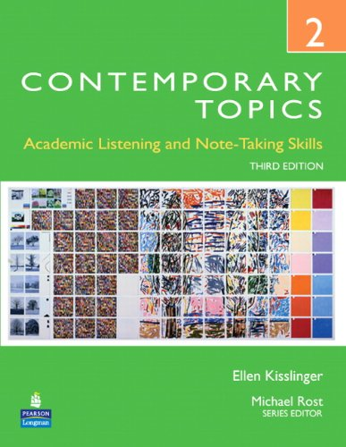 9780132345248: Contemporary Topics 2: Academic Listening and Note-Taking Skills, 3rd Edition