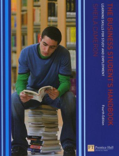 9780132349246: The Business Student's Handbook: Skills for Study and Employment