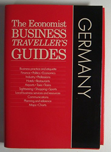9780132349567: The West Germany: Germany (Economist Business Travellers Guides)
