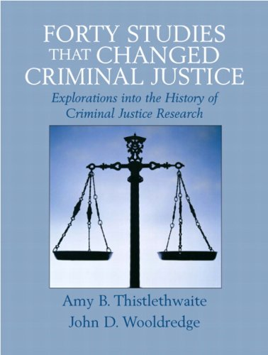 9780132349758: Forty Studies that Changed Criminal Justice