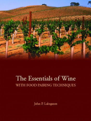 9780132351720: The Essentials of Wine With Food Pairing Techniques