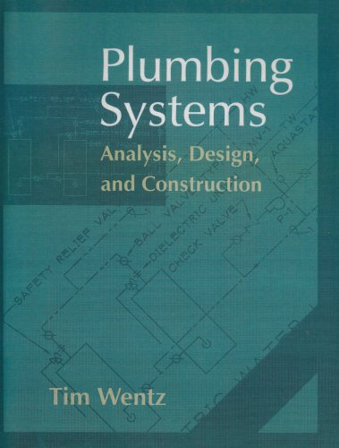 9780132352840: Plumbing Systems: Analysis, Design and Construction