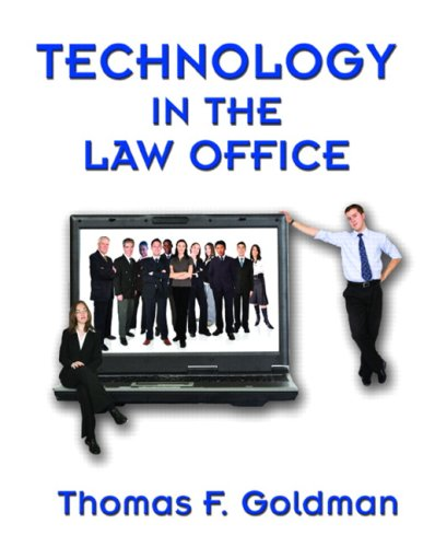 9780132352888: Technology in the Law Office