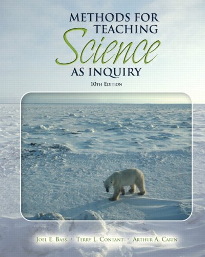 9780132353298: Methods for Teaching Science as Inquiry (10th Edition)