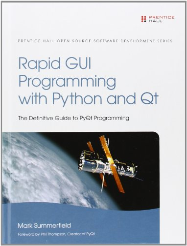 9780132354189: Rapid GUI Programming With Python and Qt: The Definitive Guide to Pyqt Programming