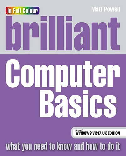 9780132354516: Brilliant Microsoft Vista Computer Basics