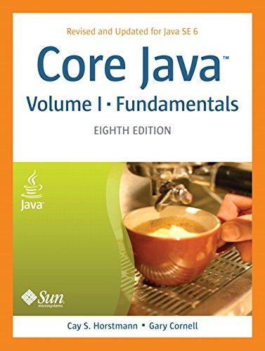 9780132354769: Core Java, Volume I--Fundamentals (8th Edition)
