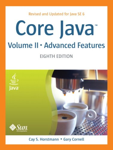 9780132354790: Core Java, Vol. 2: Advanced Features, 8th Edition