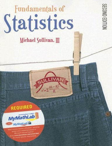 9780132355230: Fundamentals of Statistics [With CDROMWith Mymathlab Student Access Kit]