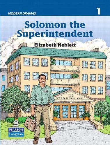 9780132355315: Solomon the Superintendent (Modern Dramas 1)