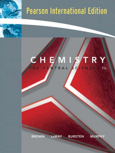 9780132358484: Chemistry: The Central Science: International Edition