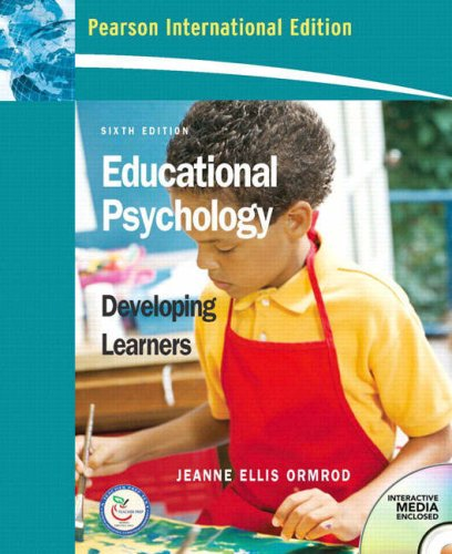 9780132359894: Educational Psychology,Developing Learners 6th edition