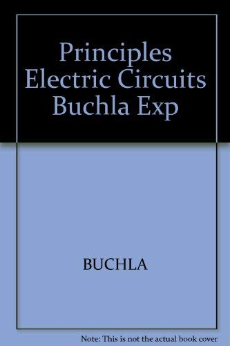 Principles Electric Circuits Buchla Exp: BUCHLA