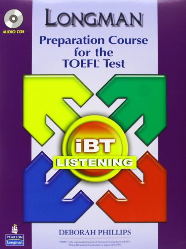 9780132360906: Longman Preparation Course for the TOEFL ibT: Listening Audio CDs