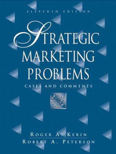 9780132361897: Strategic Marketing Problems: Cases and Comments Value Package (Includes Marketing Planpro Premier)