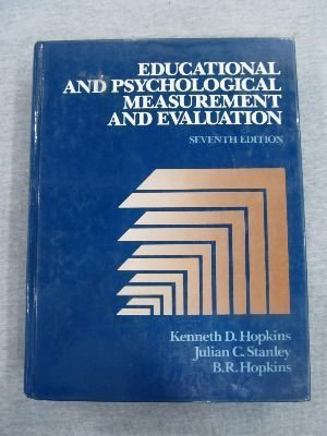 9780132363242: Educational and Psychological Measurement and Evaluation