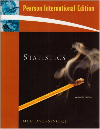 9780132363440: Statistics: International Edition