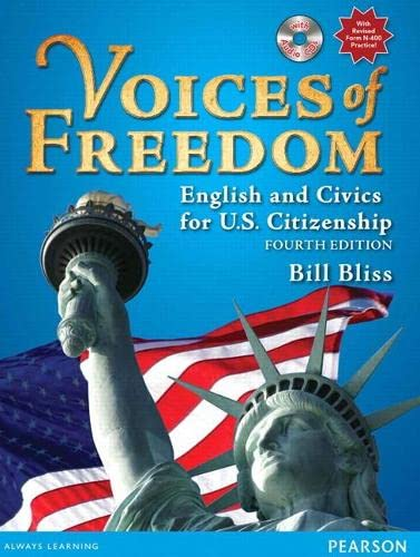 9780132366281: Voices of Freedom: English and Civics for U.S. Citizenship (with Audio CDs) (4th Edition)