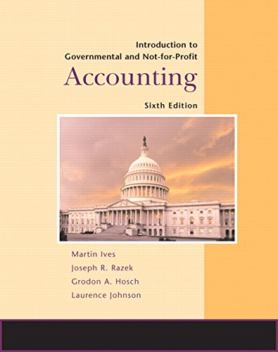 9780132366359: Introduction to Government and Not-for-Profit Accounting (6th Edition)