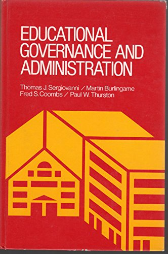 9780132366533: Educational governance and administration