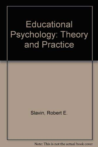 9780132368032: Educational Psychology: Theory and Practice