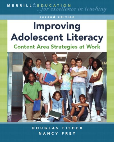 9780132368766: Improving Adolescent Literacy: Content Area Strategies at Work (2nd Edition)