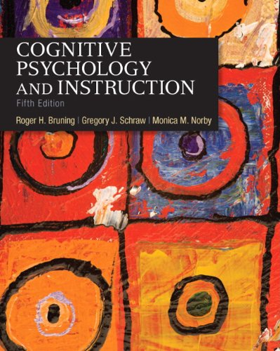 9780132368971: Cognitive Psychology and Instruction
