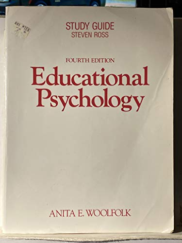 Educational Psychology/Study Guide (0132369362) by Anita E. Woolfolk; Steven Ross
