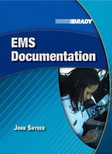 EMS Documentation (0132369648) by John Snyder