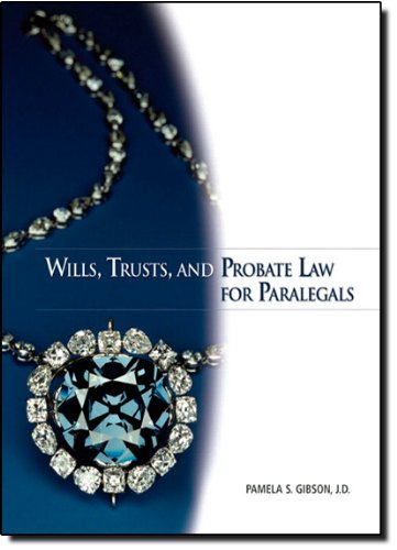 9780132369824: Wills, Trusts, and Probate Law for Paralegals