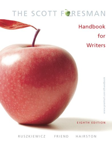 9780132370035: The Scott Foresman Handbook for Writers (8th Edition) (MyCompLab Series)