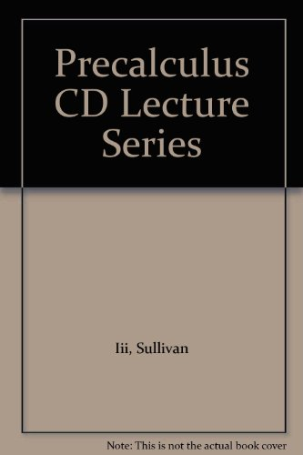 9780132370295: Precalculus CD Lecture Series