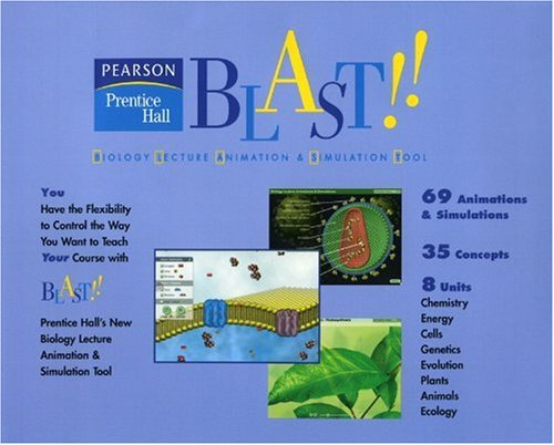 9780132370349: Prentice Hall Blast!!: Biology Lecture Animation & Simulation