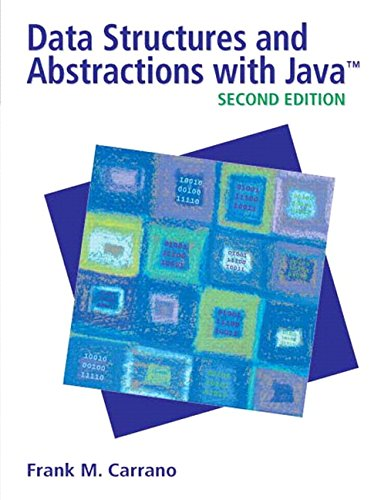 9780132370455: Data Structures and Abstractions with Java (2nd Edition)