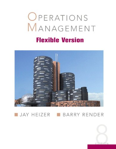 9780132370608: Operations Management, Flexible Version (8th Edition)