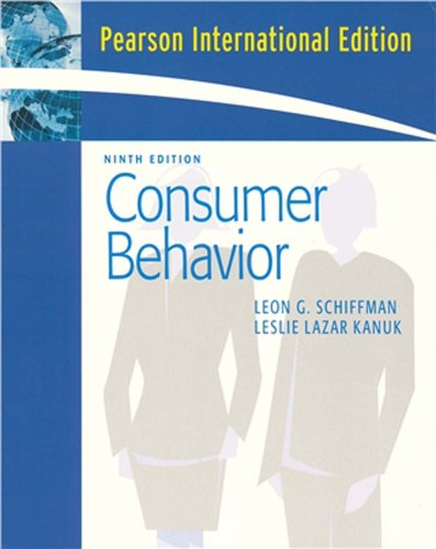 9780132370936: Consumer Behavior (9th Edition)